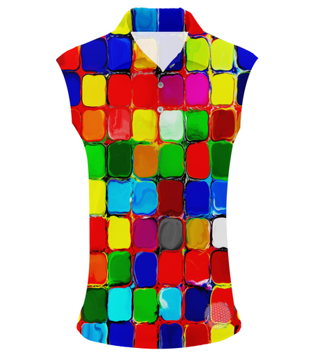 Paint Pockets | Womens Sleeveless S Golf Shirts