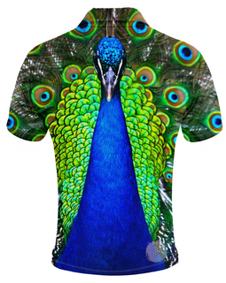 Peacock Mens Golf Shirts