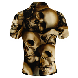 Skull | Mens Golf Shirts