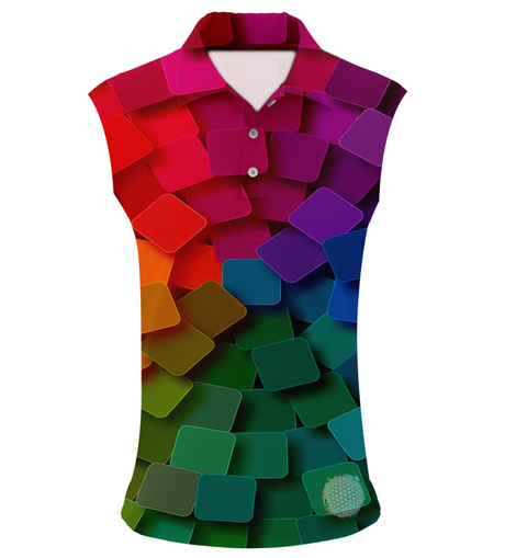 Swatch Me Now | Womens Sleeveless S Golf Shirts