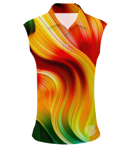 Swept Auburn | Womens Sleeveless S Golf Shirts