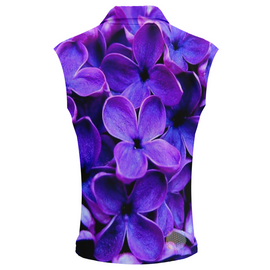 Violet | Womens Sleeveless Golf Shirts