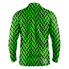 Zipper | Mens Long Sleeve Golf Shirts