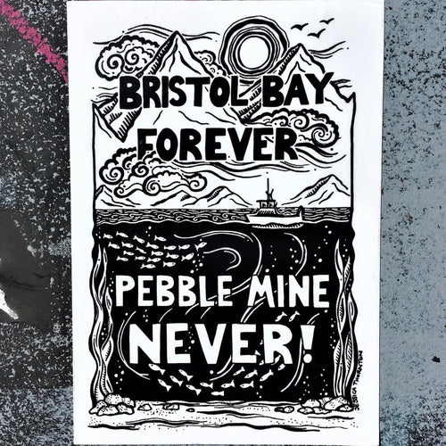 Bristol Bay Forever Sticker