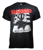 T-shirt Rancid And Out Come les loups