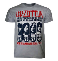 T-shirt Led Zeppelin LA 1975