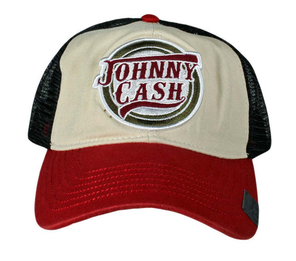 Johnny Cash Logo Trucker Hat