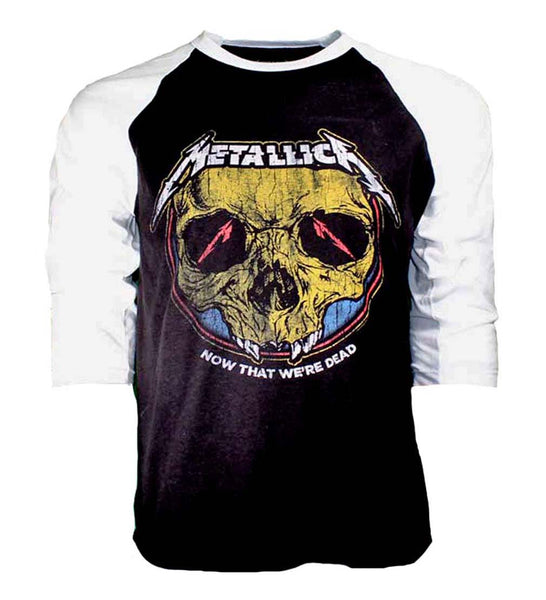 Metallica Now that We're Dead Raglan Sleeve Shirt