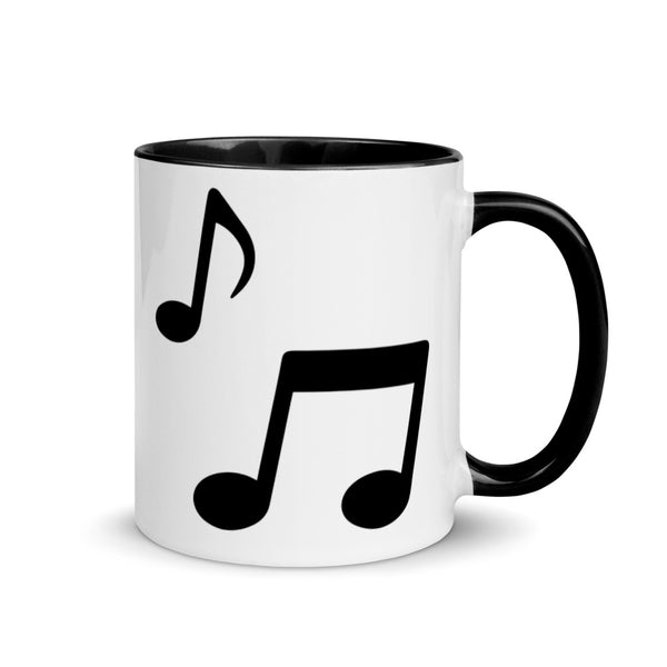 Music Notes Ceramic Music Cup