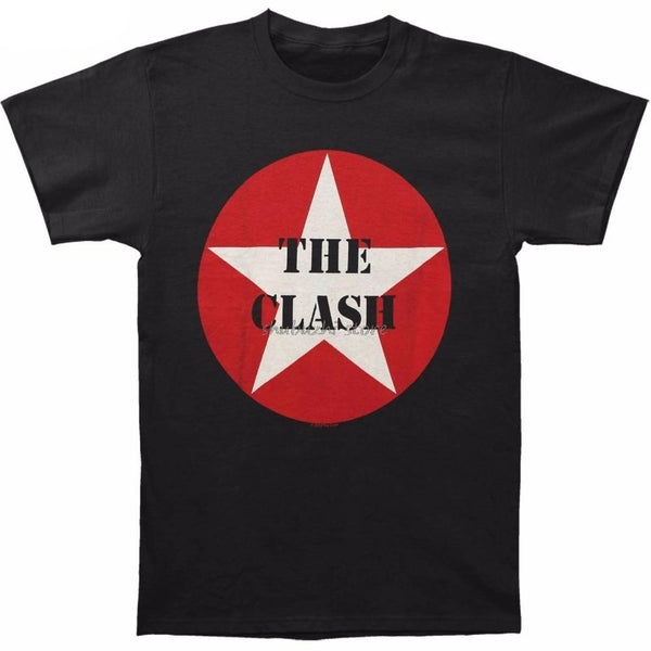 The Clash Men's Star Logo Men's Clothing SJA