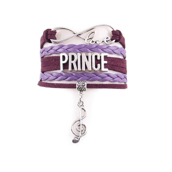 Prince Infinity Love Leather Bracelet SJA
