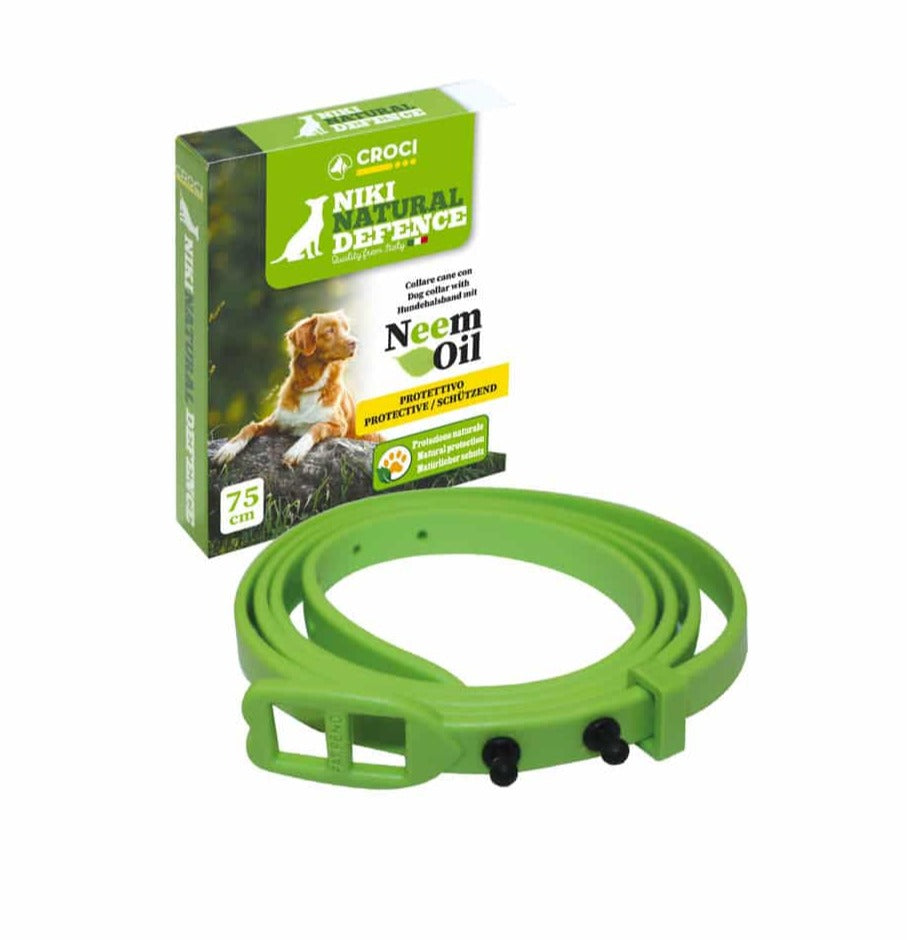 Antiparasite collar for dogs
