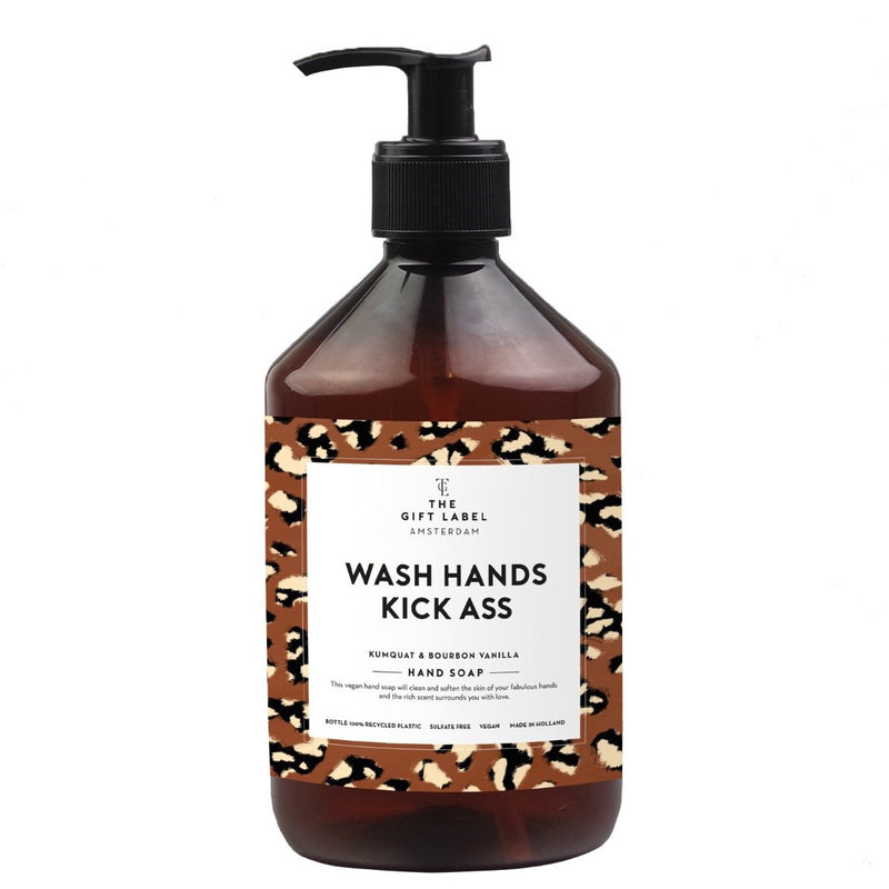 Käsisaippua - Wash hands kick ass - Lempi Lifestyle