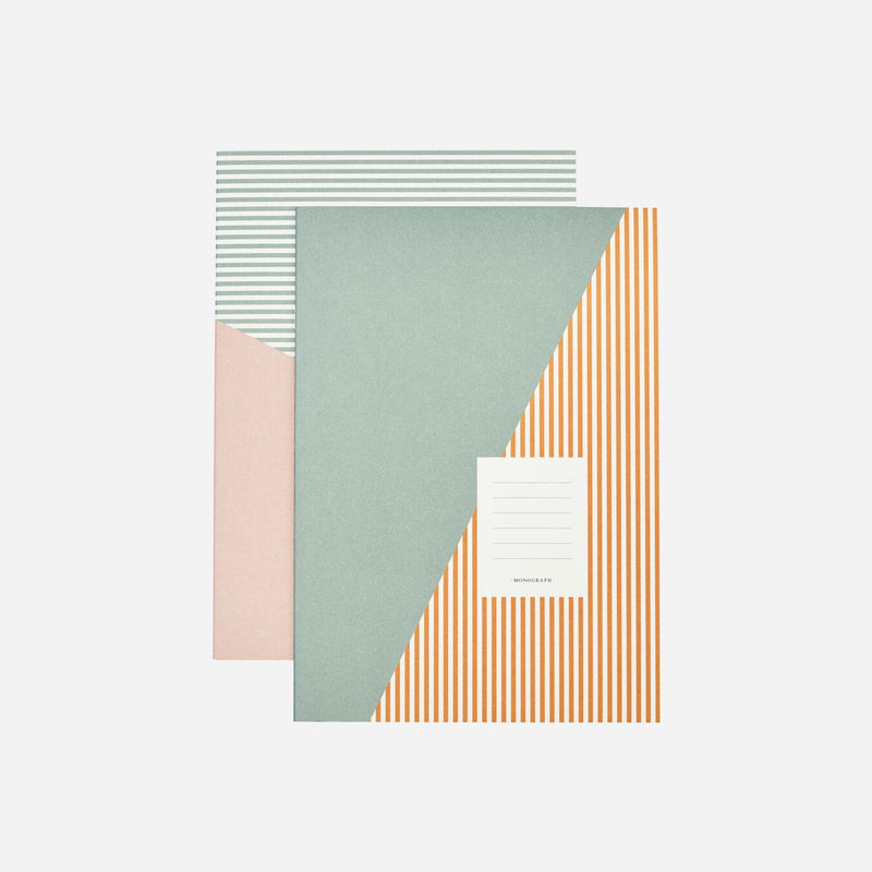 Note book, Stripes - Lempi Lifestyle