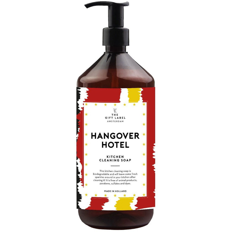 Kitchen cleaning soap - Hangover hotel - Lempi Lifestyle