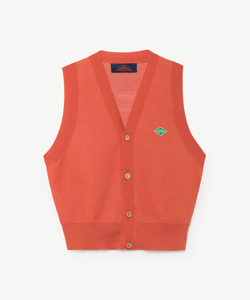 Blacksmith Kids Vest, Red TAO Uniforms