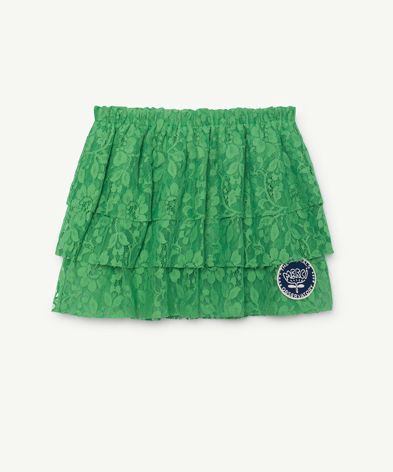 Turkey Kids Skirt, Portugal Electric Green