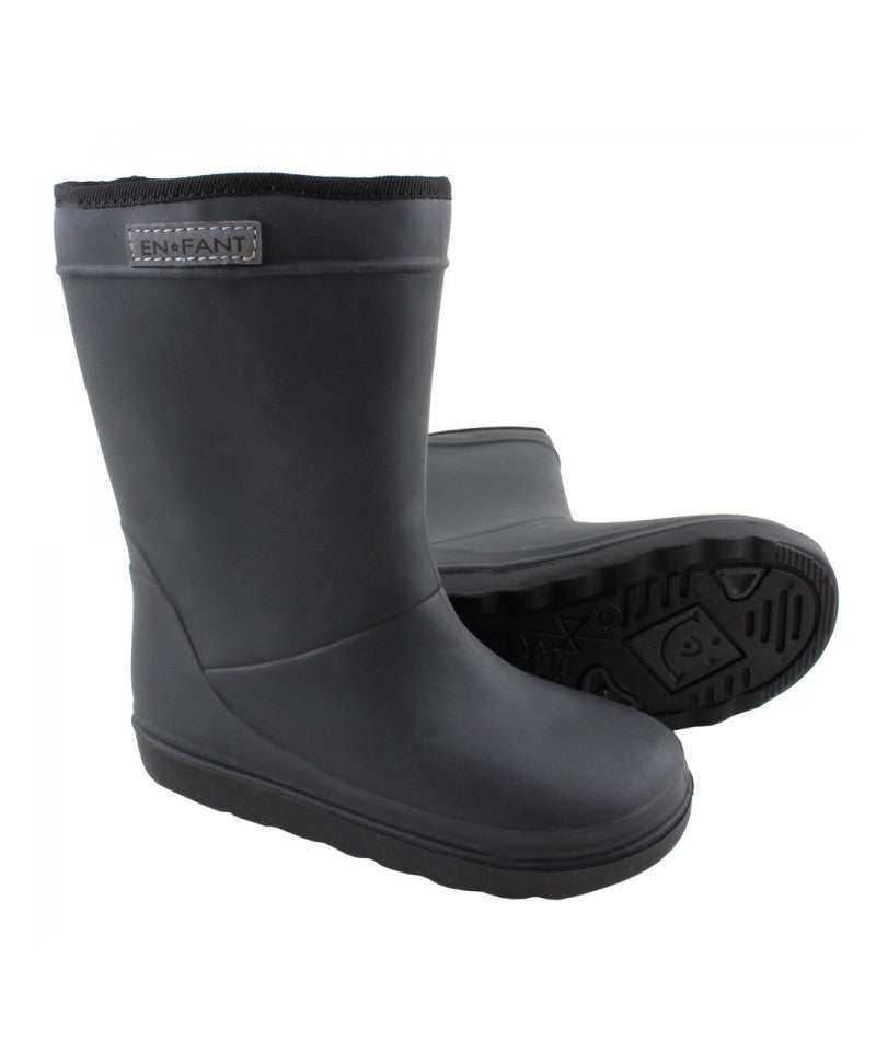 Enfant Thermo Winter Wellies, Black