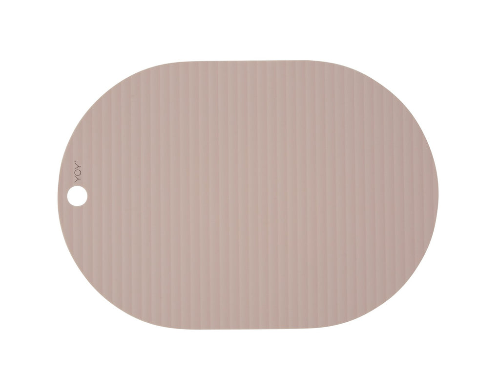 Ribbo Placemat(2PC), Rose