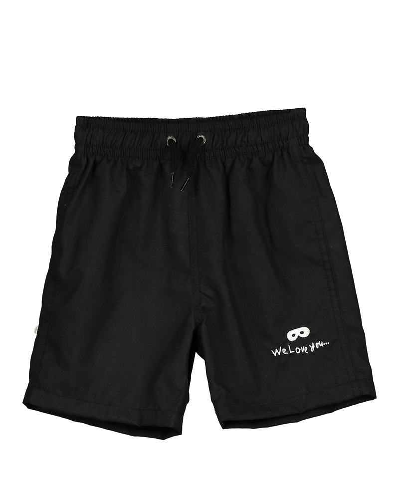 Swim Shorts, Inky Black