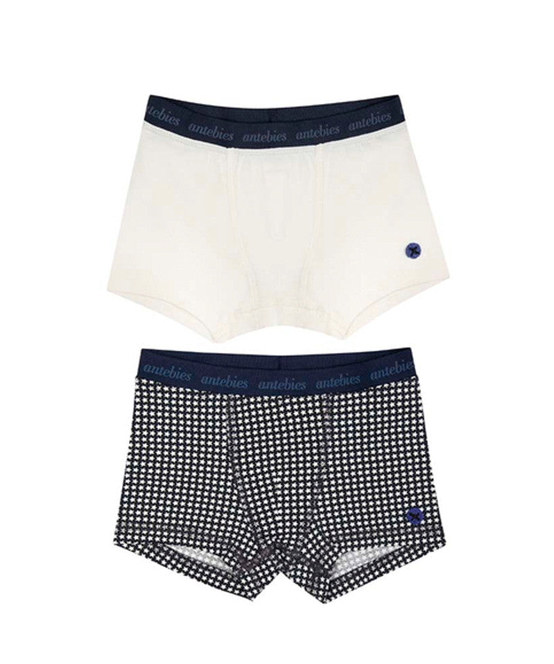 2Pack Boxers, Navy
