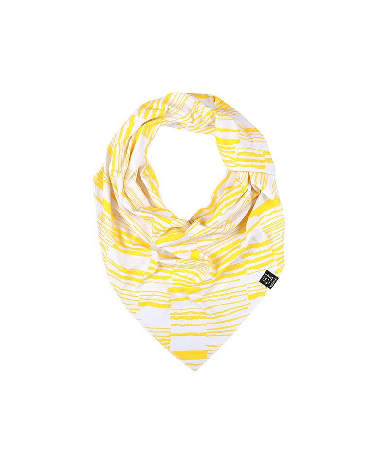 Scarf, Yellow Stripes