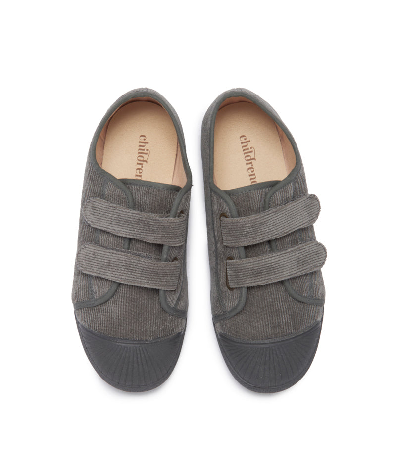 Childrenchic Kids Grey Cord Fall Sneakers