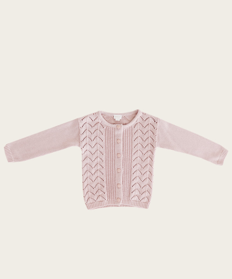 Ellery Cardigan, Old Rose