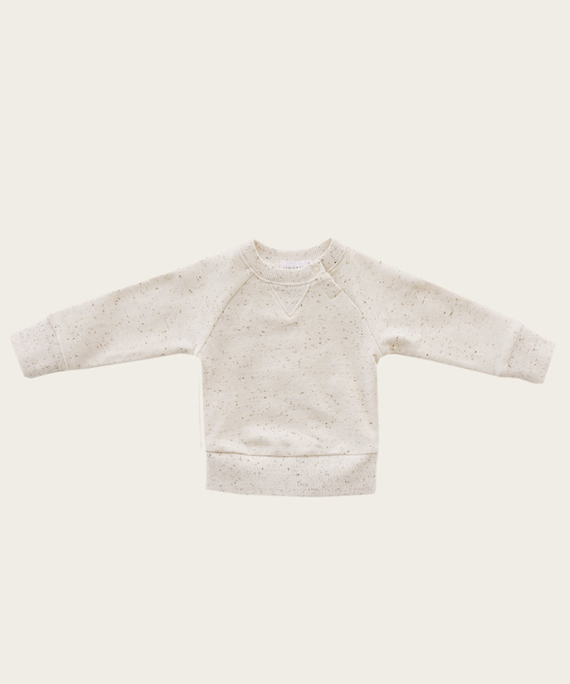 Fleck Dylan Sweatshirt, Honey