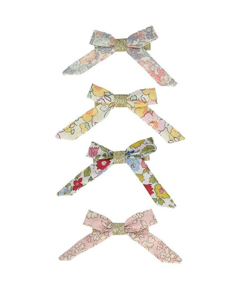 Meri Meri Floral Bow Hair Clips