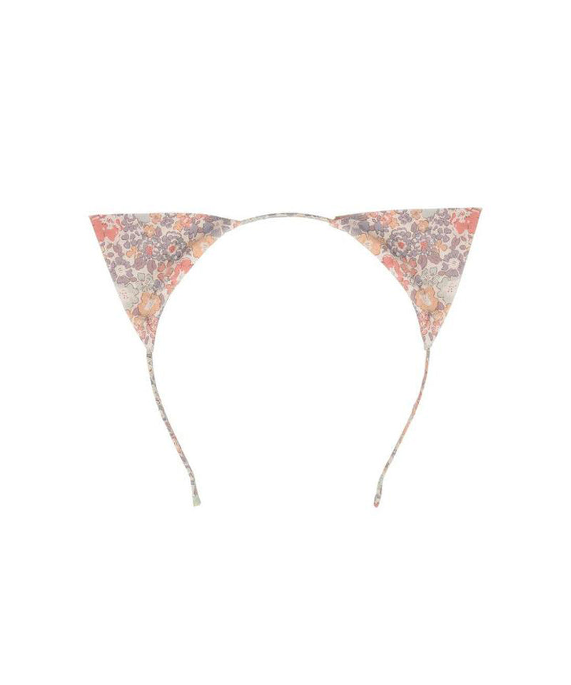 Meri Meri Floral Cat Ear Headband