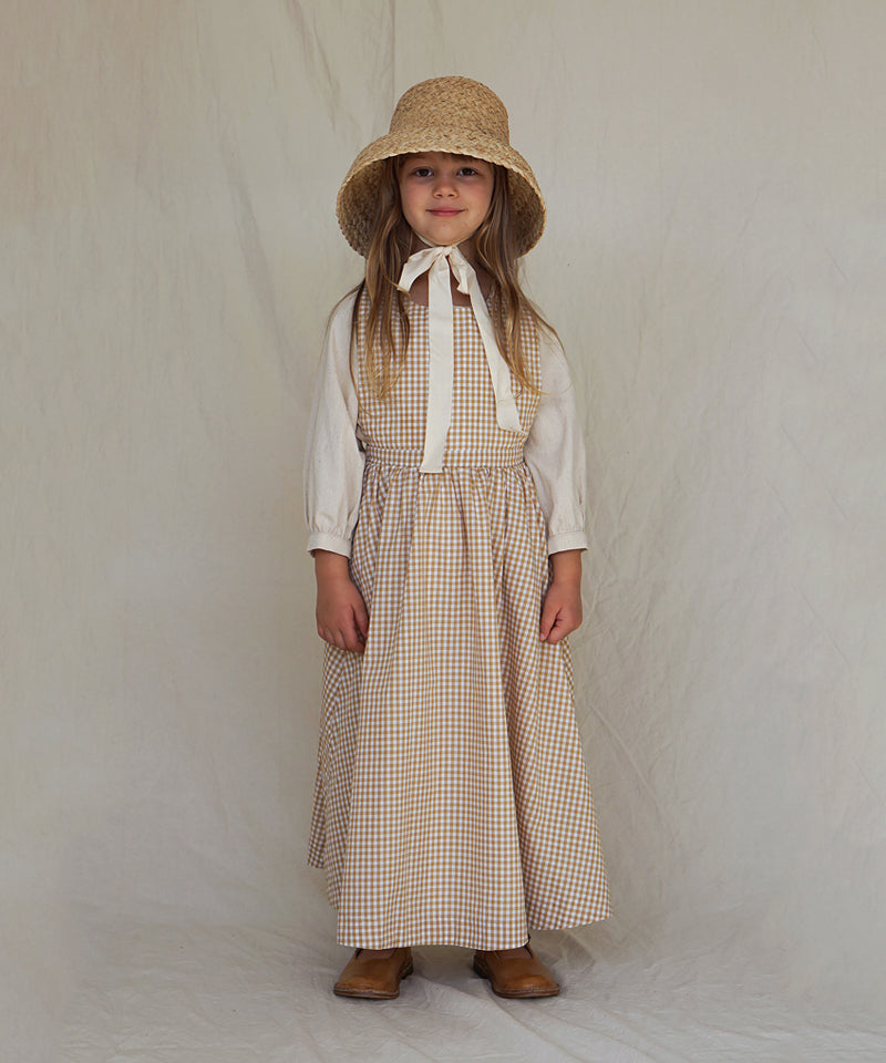 Juliette Pinafore, Ginger Gingham