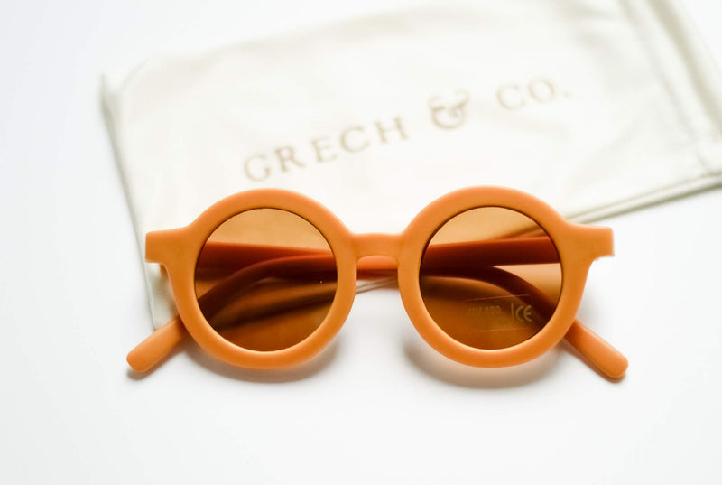 SUSTAINABLE KIDS SUNGLASSES - GOLDEN