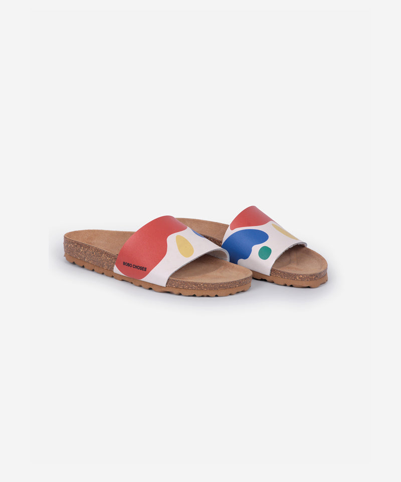 Landscape Sandals, Turtledove