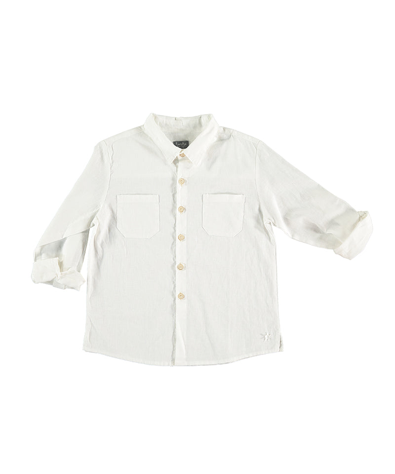 Long Sleeved Shirt, Off-White
