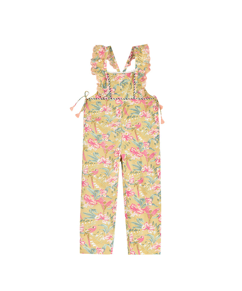 Louise Misha Overalls Talia, Soft Honey Parrots