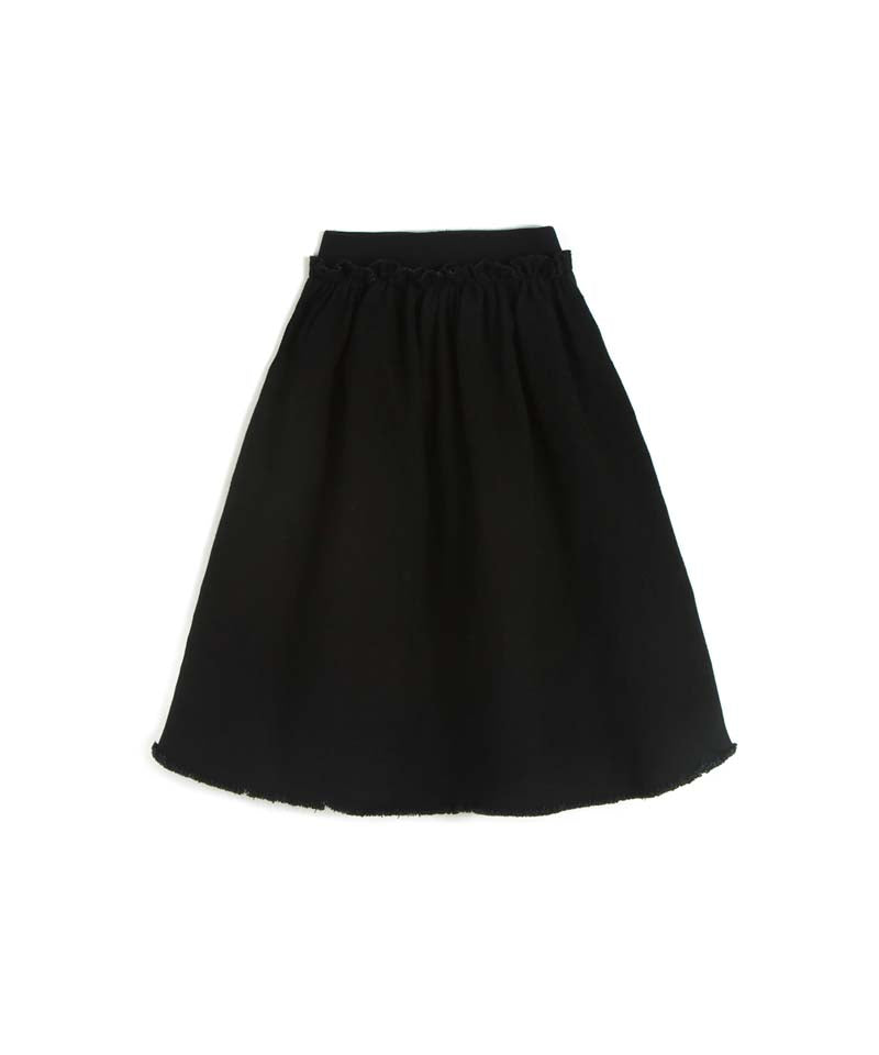 Denim Black Silvina Skirt