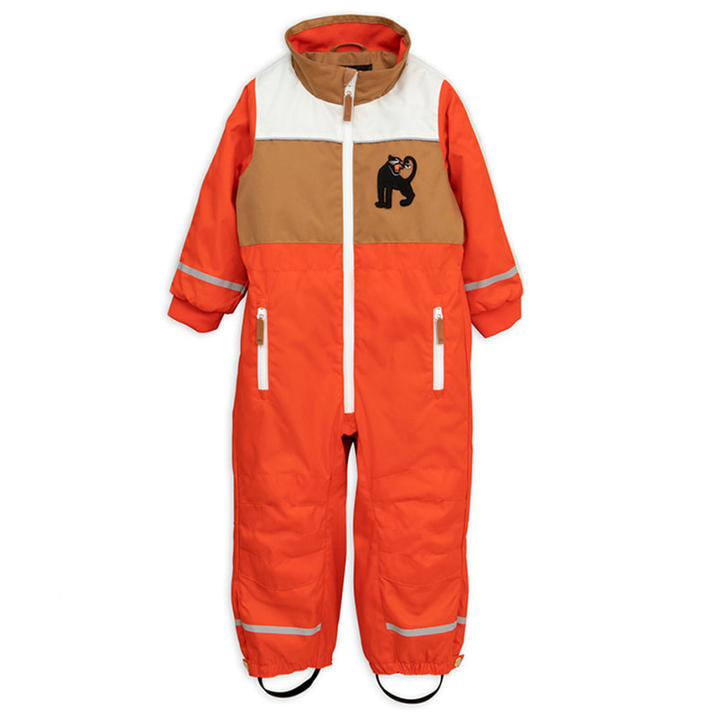 Mini Rodini Snowracing Overall, Red