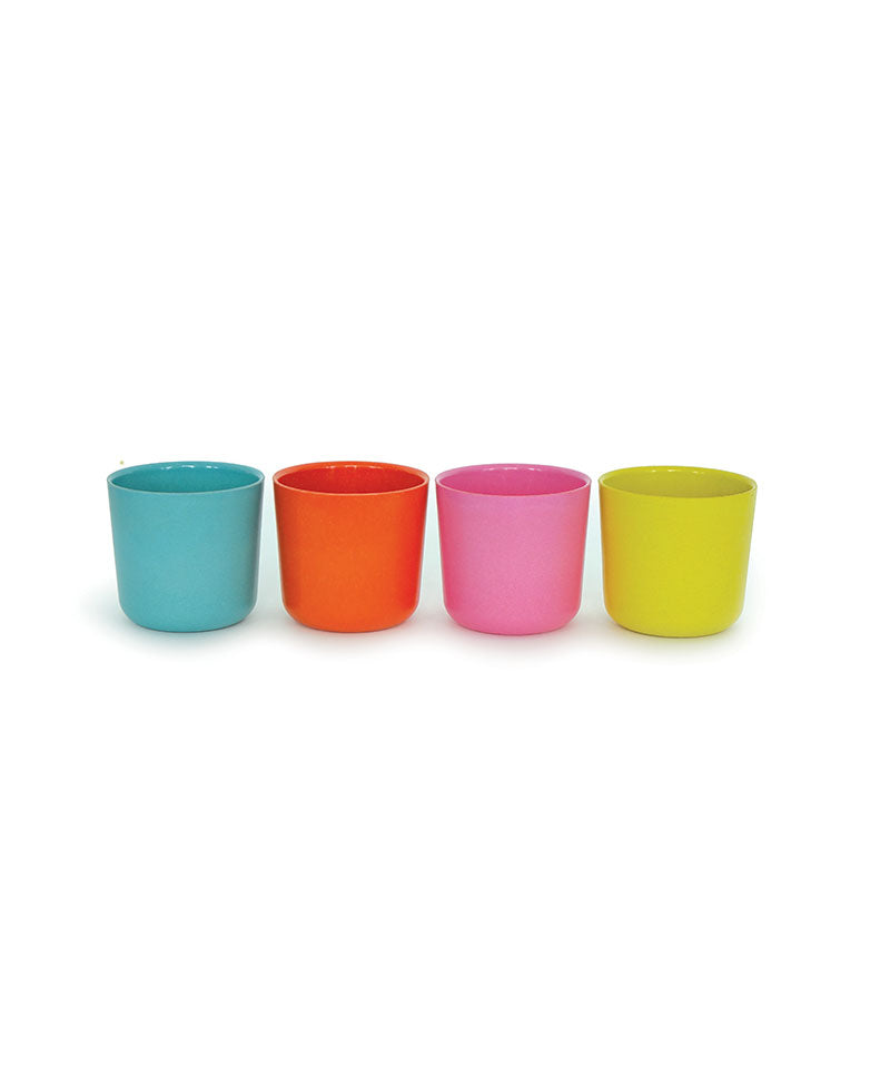 Bambino 8 oz Cup Set V1 (Lagoon/Persimmon/Rose/Lime)