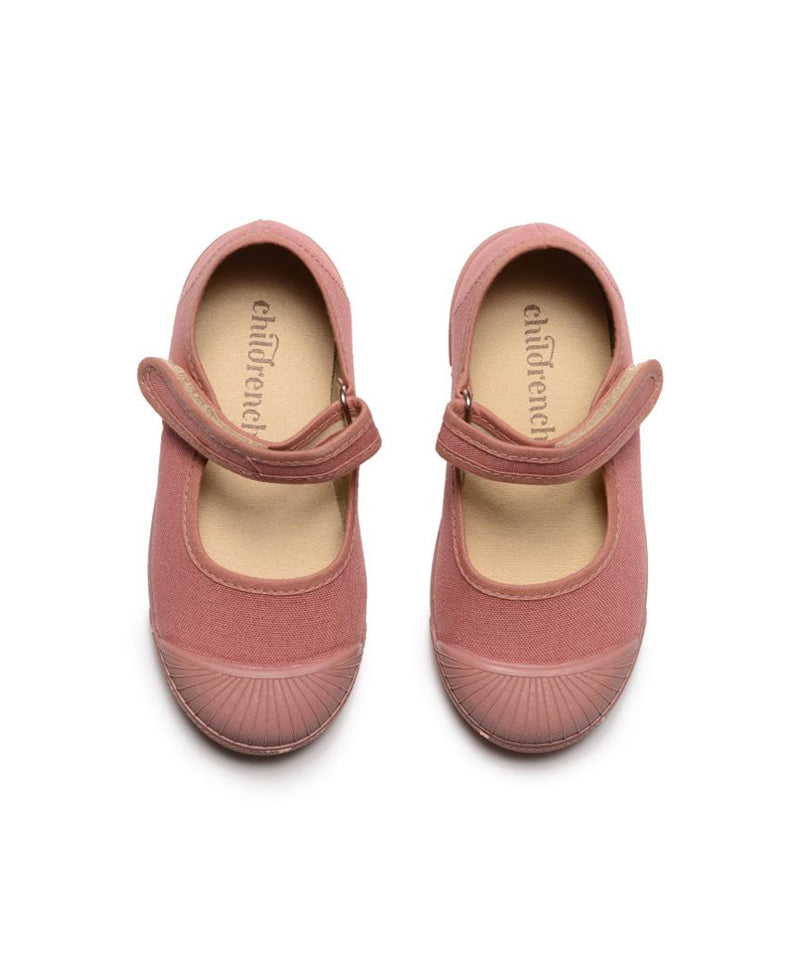 Kids Rosewood Canvas Captoe Sneakers