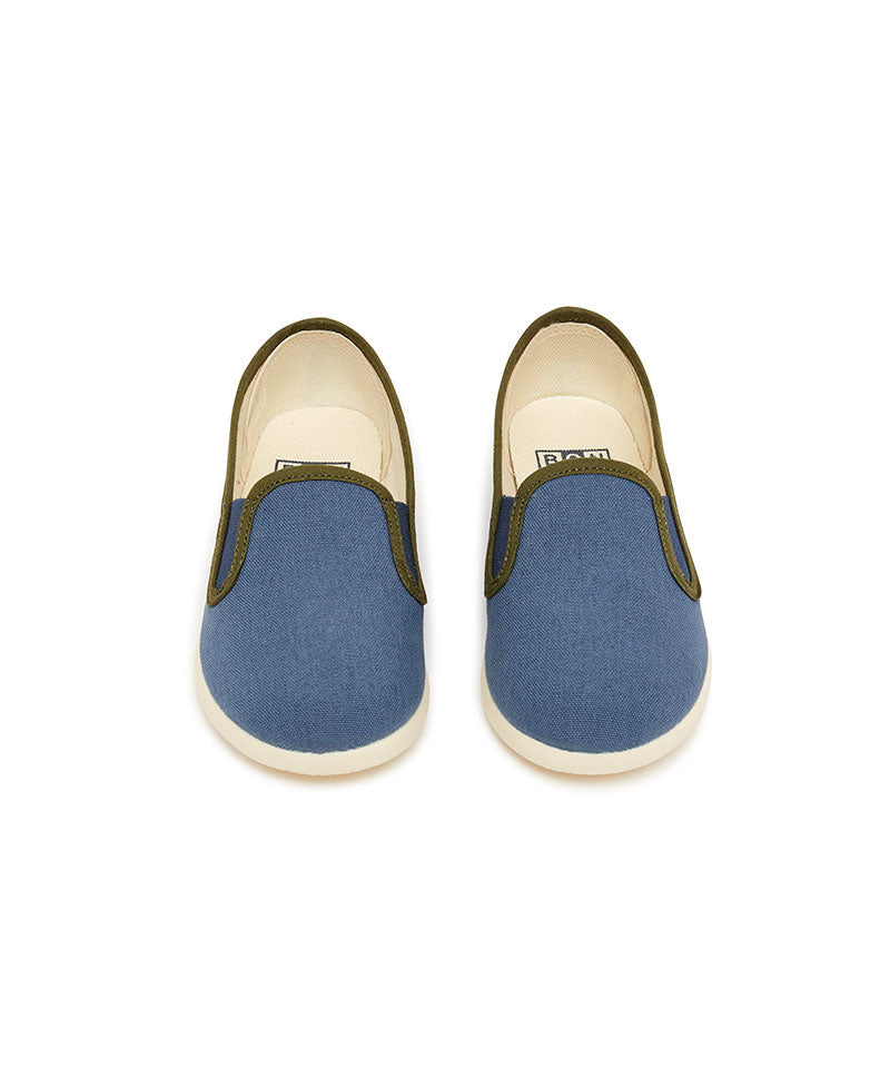 Online Bleu Elastic Shoes