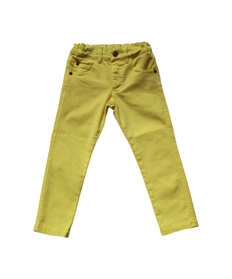 Emile et Ida Yellow Pantalon Slim Pants