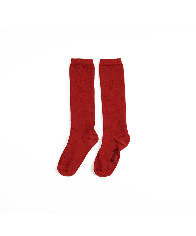 Long Socks in Red