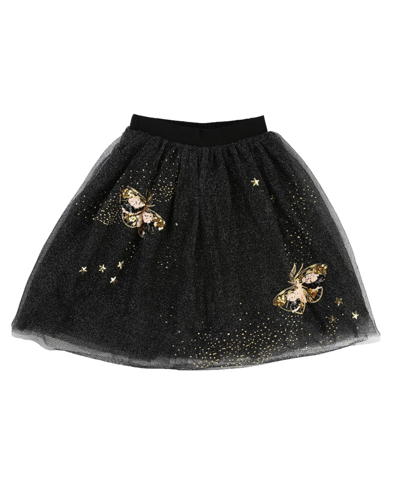 Mid-Length Tulle Skirt