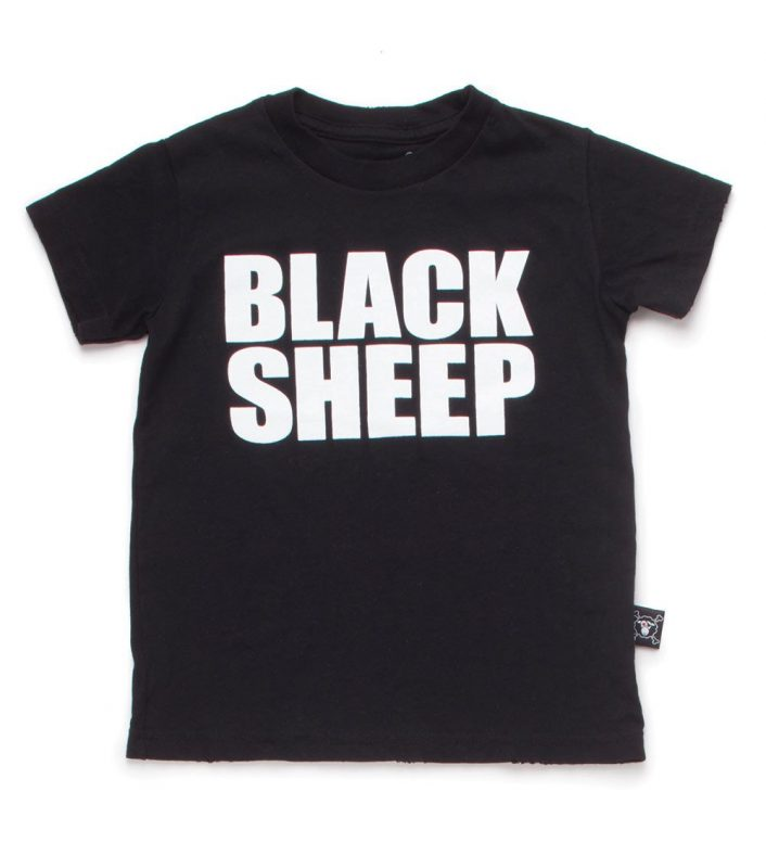NU1301A Blacksheep T-shirt, Black