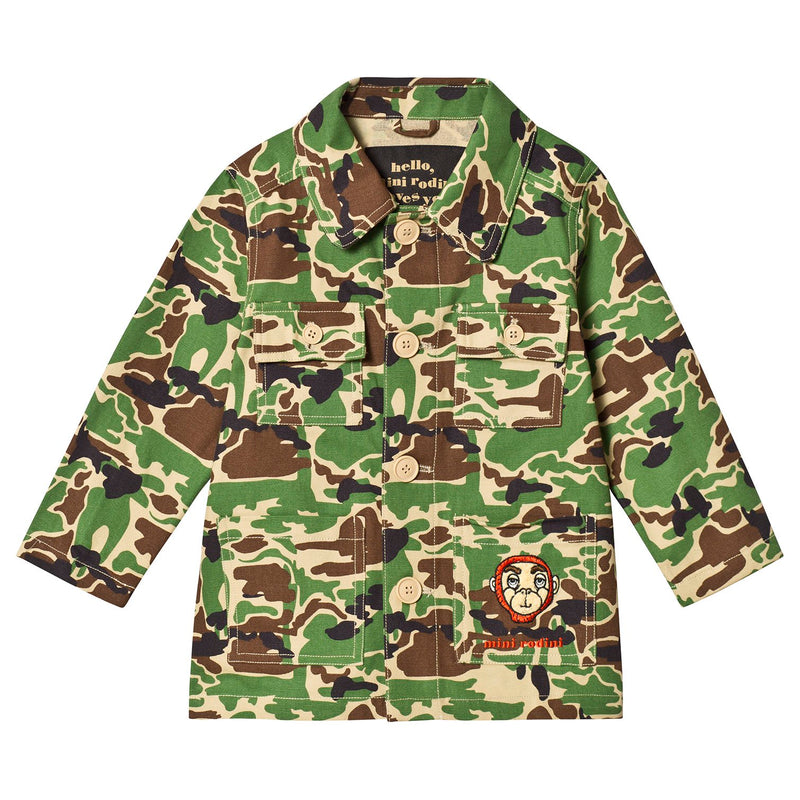 Safari Jacket, Green