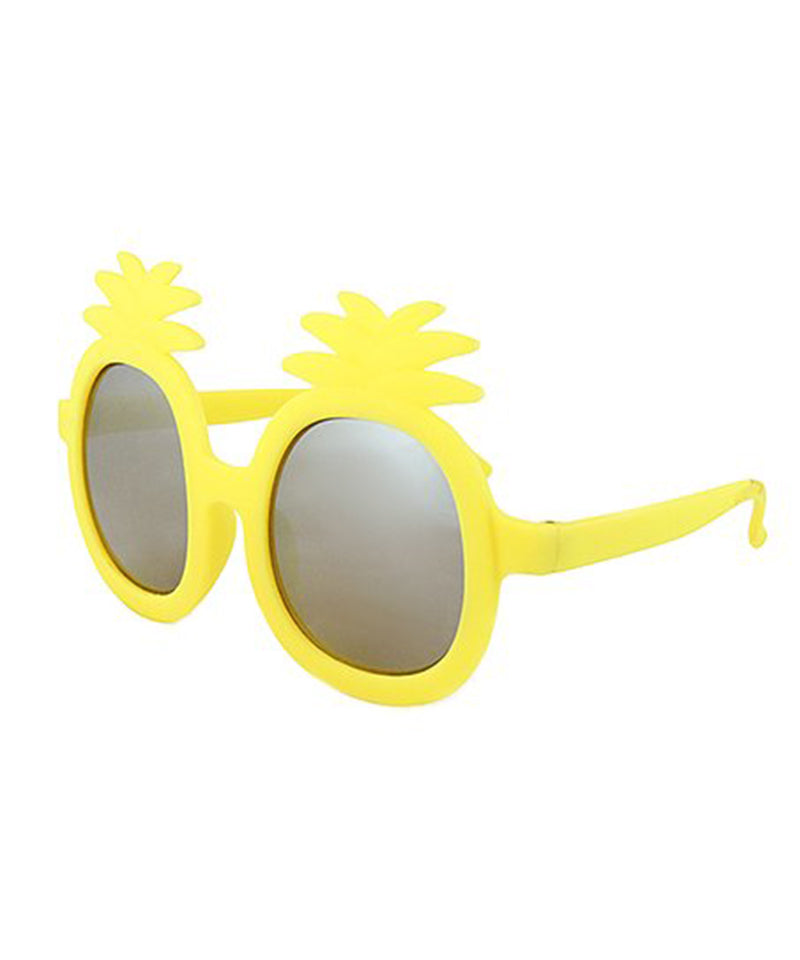 Kids Mirrored Pineapple Sunglasses