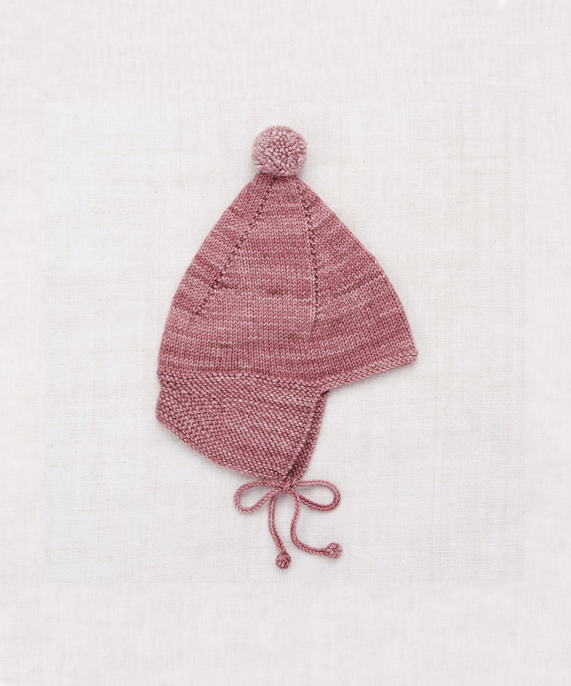 Misha & Puff Pointy Peak Hat, Antique Rose