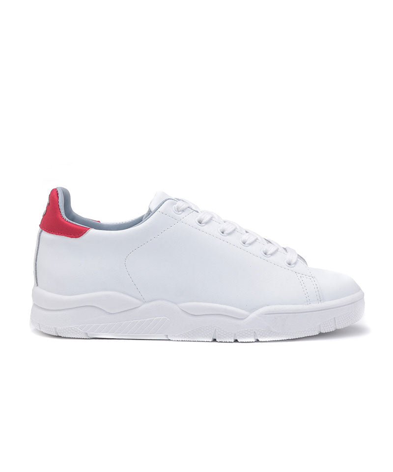 Roger Low Sneakers White/Red