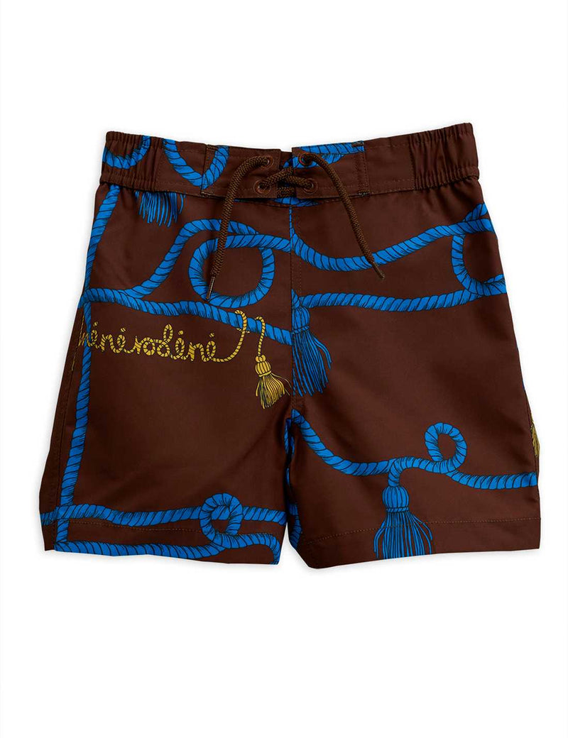 Rope Swimshorts, Brown